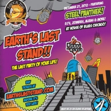 Earth's Last Stand event hosted by Shock Top - 12/21/12