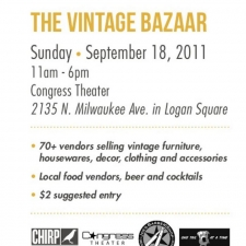 2011 Vintage Bazaar @ The Congress